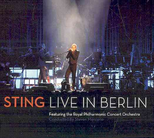 STING:LIVE IN BERLIN BY STING (CD)